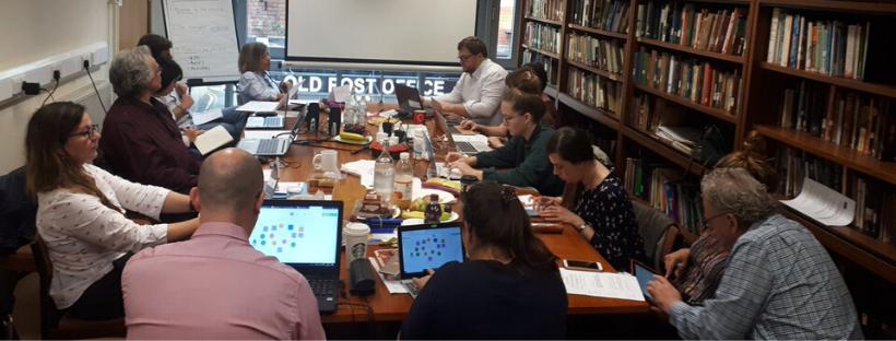 Eurospectives Erasmus Plus TNP Meeting Liverpool September 2019